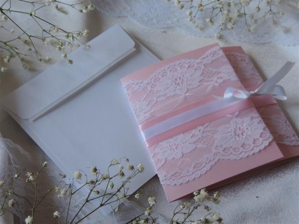 98792f06fb 00024 - rózsaszín - fehér csipke meghívó - Csipkés, romantikus ...