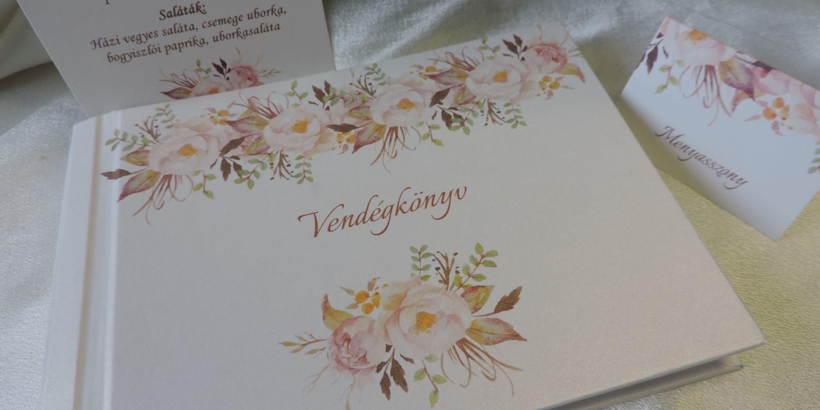 42ab9d80b4 Esküvői meghívó - Vendégkönyv, köszönetajándék, ültetőkártya ...